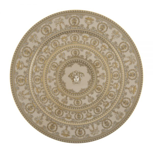 Versace Home - I Love Baroque Serving Plate - Olive