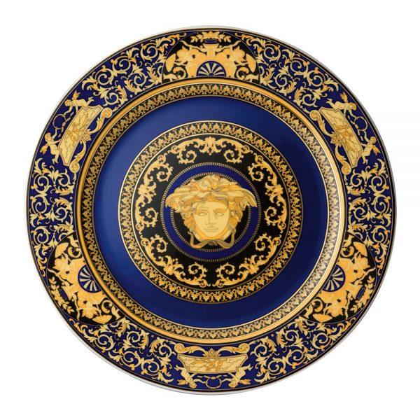 Versace Home - Ikarus Medusa Wall Plate - Blue - 30cm