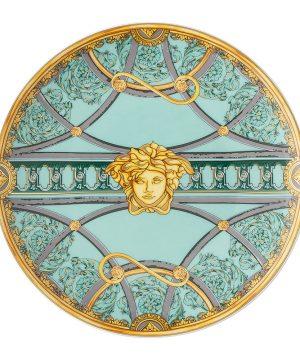 Versace Home - La Scala Del Palazzo Plate - 17cm - Green