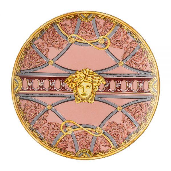 Versace Home - La Scala Del Palazzo Plate - 17cm - Pink
