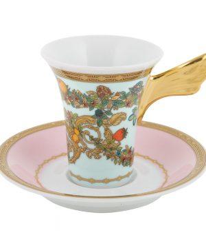 Versace Home - Le Jardin de Versace Cup & Saucer - Tall
