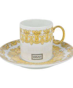 Versace Home - Medusa Rhapsody Espresso Cup and Saucer