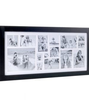 XLBoom - Multi Image Rectangle Frame - Coffee Bean