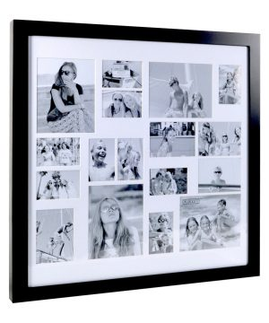 XLBoom - Multi Image Square Frame - Coffee Bean