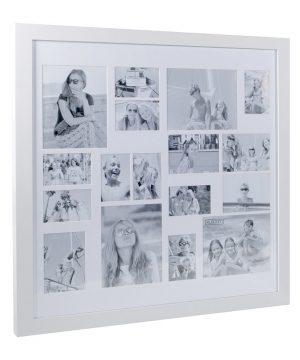 XLBoom - Multi Image Square Frame - White