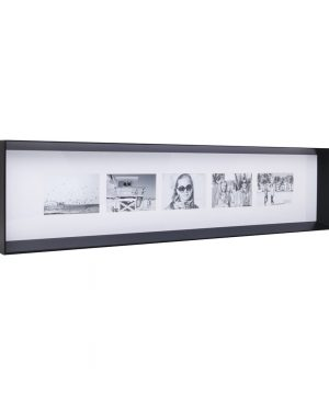 XLBoom - Prado Long Photo Frame - Coffee Bean