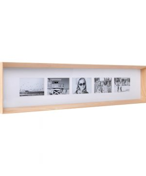 XLBoom - Prado Long Photo Frame - Timber