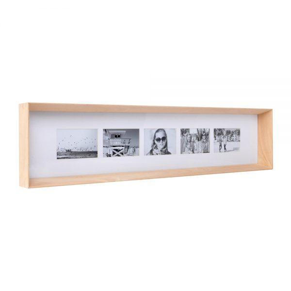 XLBoom - Prado Long Photo Frame - Timber