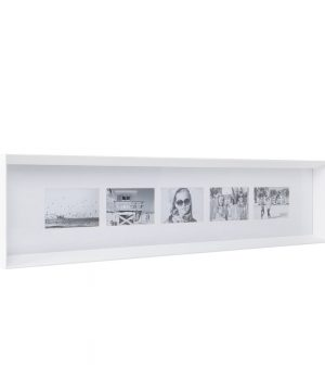 XLBoom - Prado Long Photo Frame - White