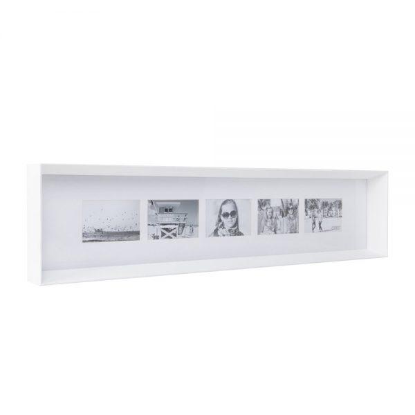 XLBoom - Prado Long Photo Frame - White