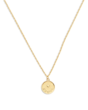 kate spade new york Amour Pendant Necklace, 16-19