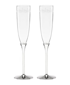kate spade new york - Key Court Toasting Flutes - Set of 2
