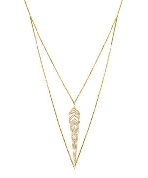 Diamond Pendant Necklace in 14K Yellow Gold, .50 ct. t.w. - 100% Exclusive