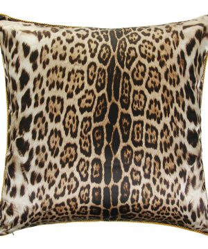 Roberto Cavalli - Bravo Silk Bed Cushion - 001 - 60x60cm