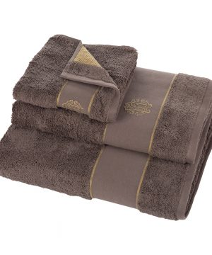 Roberto Cavalli - Gold Towel - Coffee - Bath Sheet