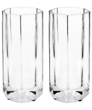 Versace Home - Medusa Lumiere Long Drink Glasses - Set of 2