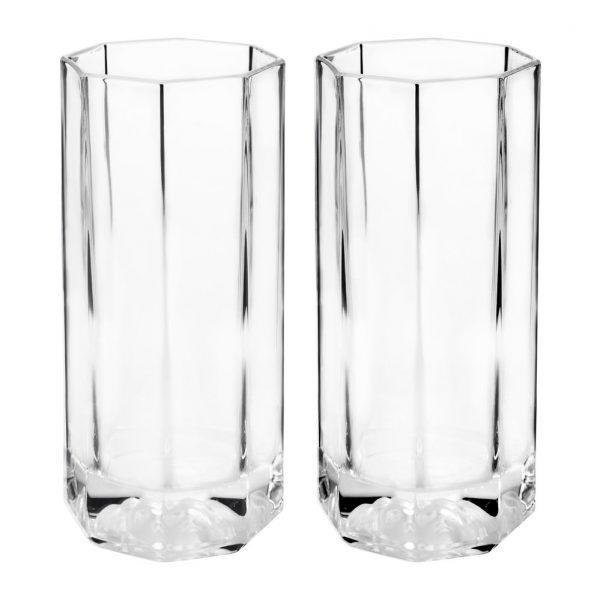 Versace Home - Medusa Lumiere Long Drink Glasses - Set of 2