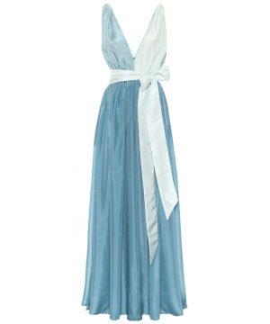 Adonis silk maxi dress