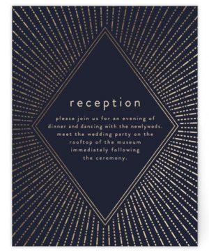Apache Foil-Pressed Reception Cards