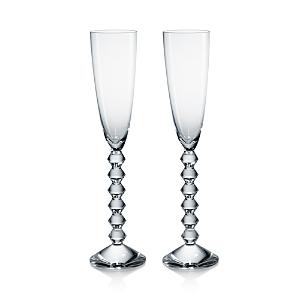 Baccarat Vega Flutissimo Champagne Flute, Set of 2