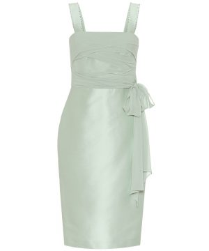 Bardies cotton and silk sheath dress