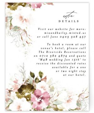 Beautiful Spring Directions Cards