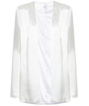 Blenheim satin bridal jacket