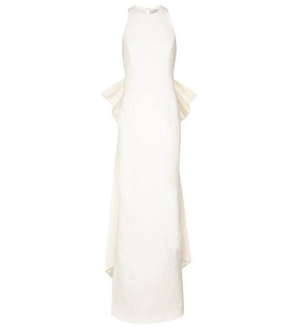 Bridal Amore crêpe gown