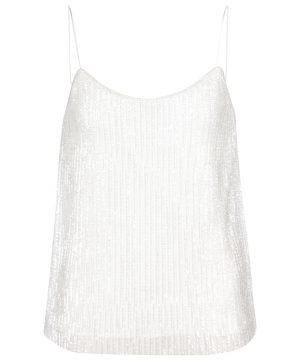 Bridal Cerson sequined camisole