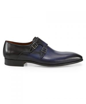 COLLECTION Double Monk-Strap Leather Dress Shoes