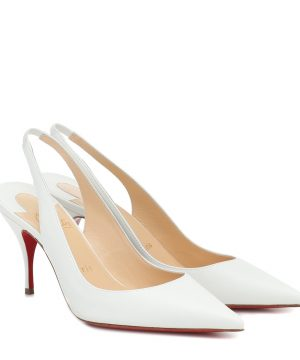 Clare Sling 80 leather pumps