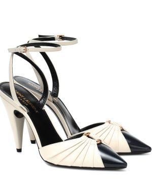Diane leather pumps