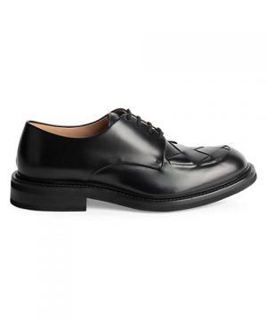 Douglas Intrecciato Leather Dress Shoes