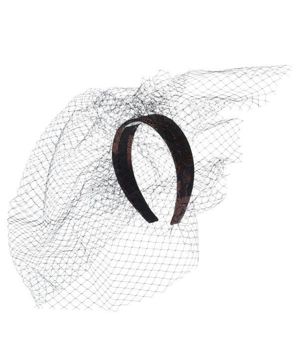 Embellished jacquard headband