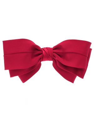 Exclusive to Mytheresa - Classic silk bow barrette