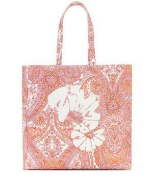 Exclusive to Mytheresa - Logo paisley canvas tote