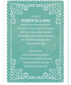 Fiesta Folk Art Directions Cards