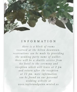 Foliage Wreath Directions Cards