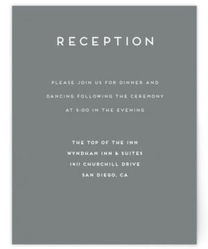 Grounded In Love Reception Cards