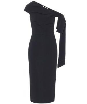 Howe one-shoulder midi dress