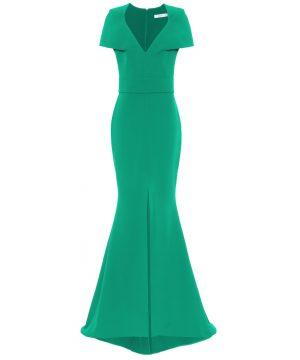 Hydrona crêpe gown