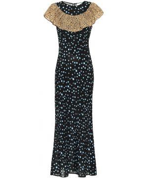 Lacey printed midi dress