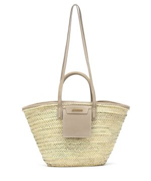 Le Panier Soleil straw tote