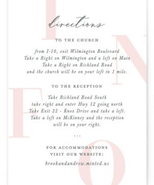 Lettera Directions Cards