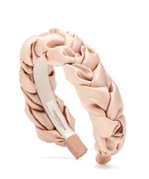 Lorelei plaited silk headband