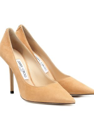 Love 100 suede pumps