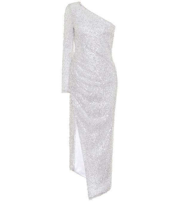 Mamounia sequined bridal dress