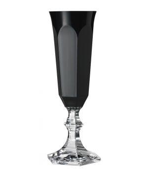 Mario Luca Giusti - Dolce Vita Acrylic Champagne Flute - Black