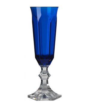 Mario Luca Giusti - Dolce Vita Acrylic Champagne Flute - Blue
