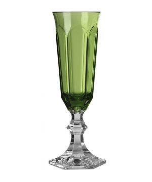 Mario Luca Giusti - Dolce Vita Acrylic Champagne Flute - Green